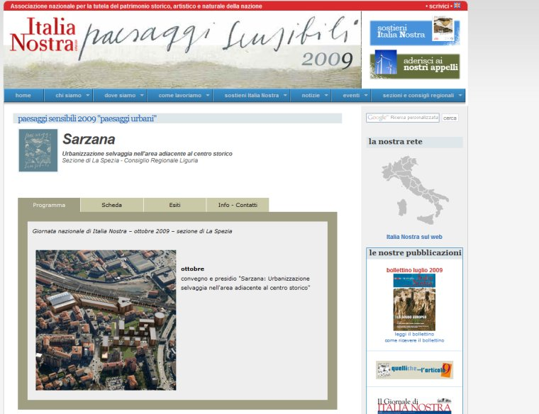 print screen italia nostra