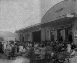 Il mercato, testimonianza del rapporto città-campagna nel dopoguerra
