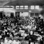 Il mercato di piazza Terzi negli anni Cinquanta