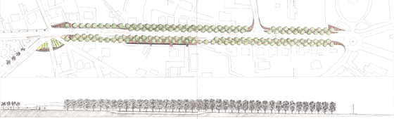 Progetto vincitore del concorso per viale Mazzini (fonte: www.architetturaitalia.it)