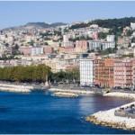 Napoli, il mare di Mergellina