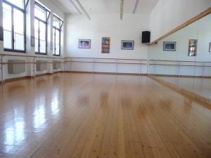 La palestra della scuola di danza di Lucia Boschi