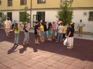 XXI luglio: la festa nel cortile restaurato (giugno 2005)