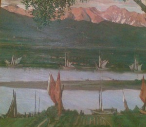 Il Magra dipinto da Fossati