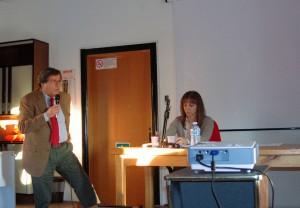 Il vicesindaco Bottiglioni nel suo intervento al convegno