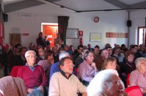 Il pubblico durante la conferenza