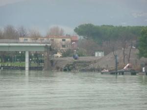 Si presentava così dopo l'alluvione dei primi di gennaio del 2010. Noi contribuenti paghiamo.