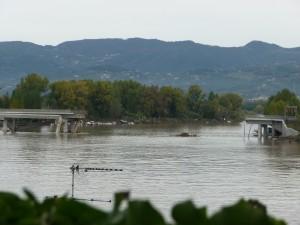 Quel che rimane del Ponte della Colombiera