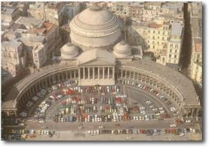 Piazza Plebiscito nel 1964