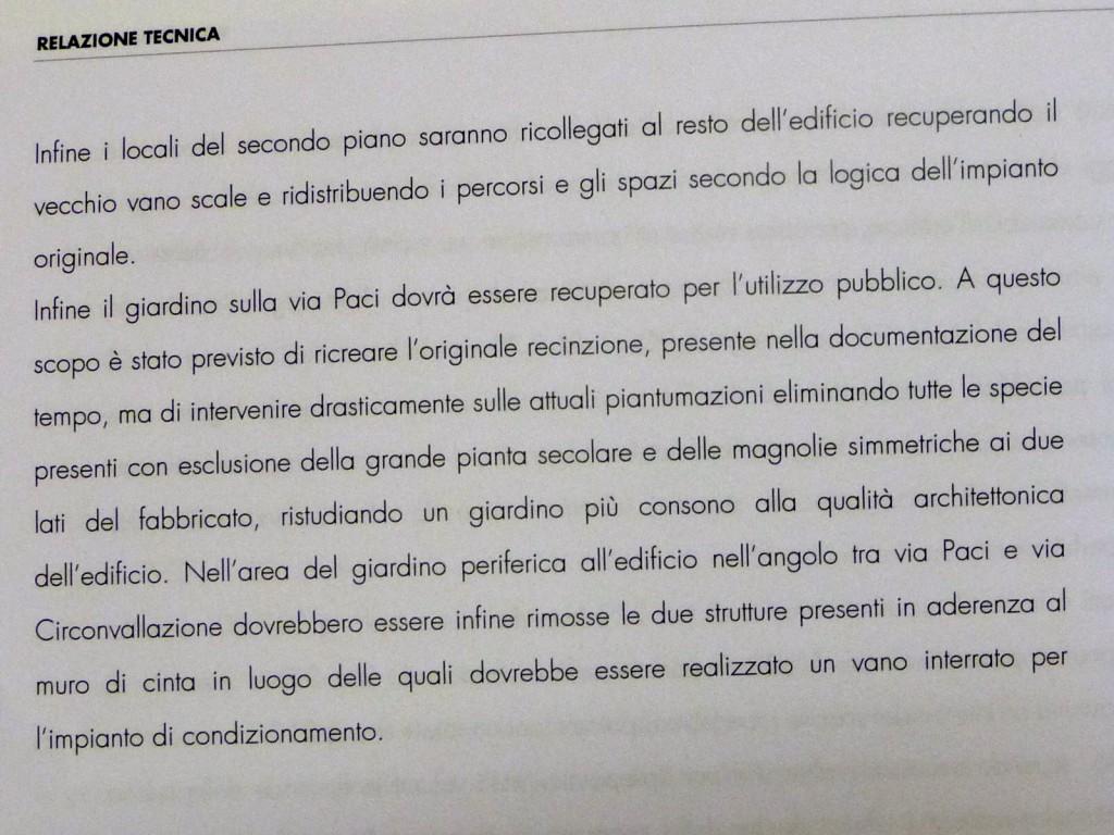 Il decreto di condanna degli alberi secolari del San Bartolomeo