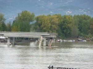 Quel che resta del ponte della Colombiera