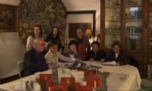 Un momento dell'incontro del Tg2 col Comitato